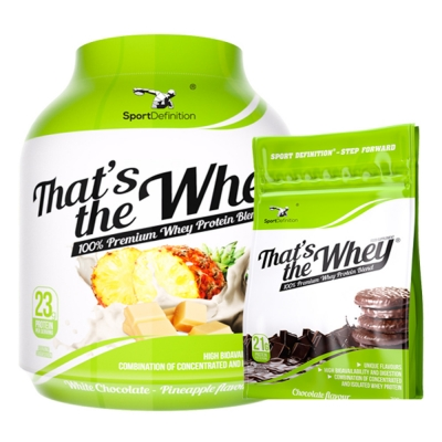 SPORT DEFINITION THAT'S THE WHEY - 2270G + 700G